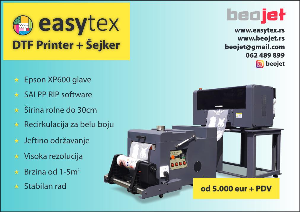 dtf printer sa sejkerom prodaja